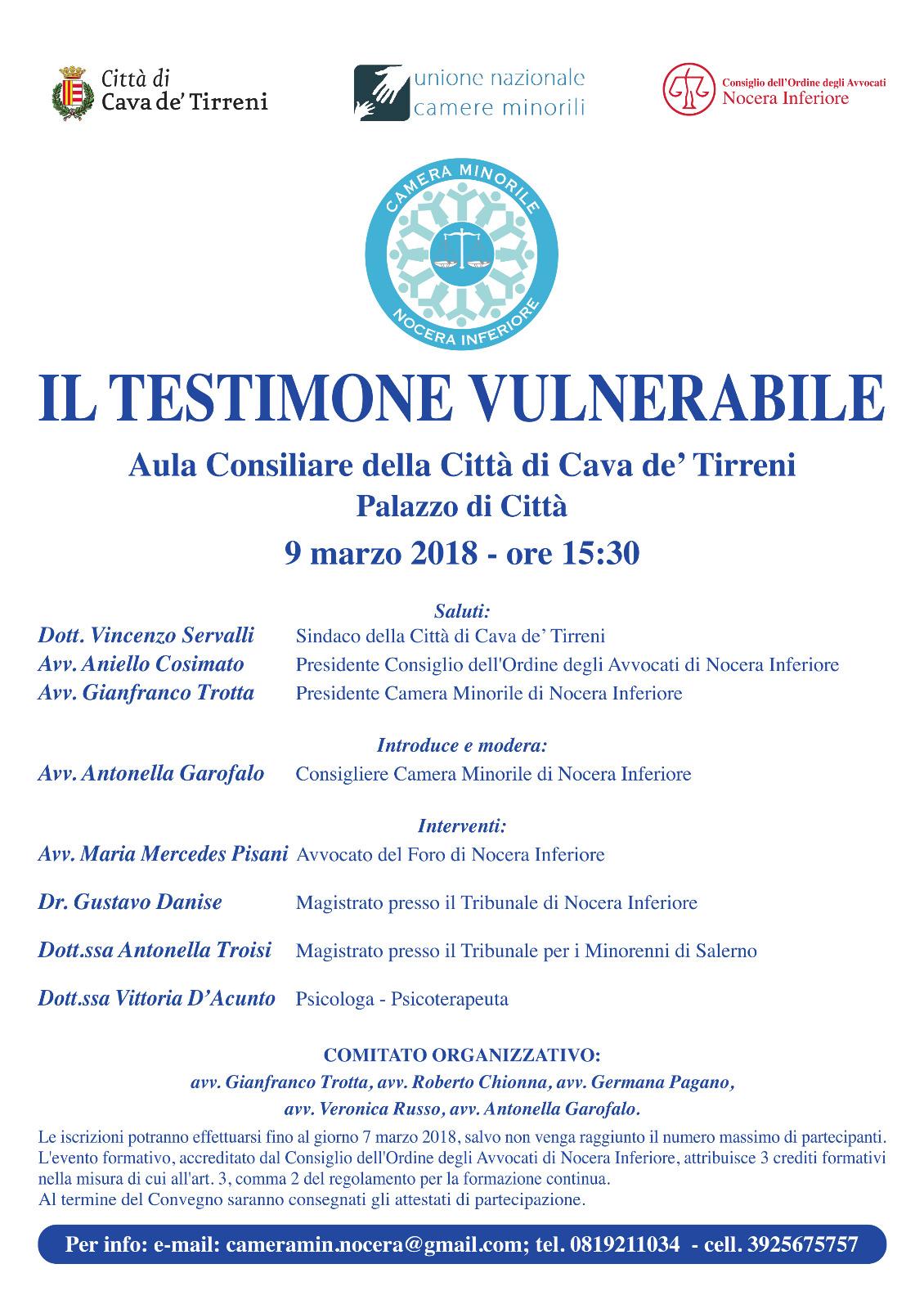 CM_Nocera_Inferiore_Testimone_Vulnerabile09_03_2018